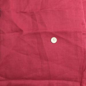 Vintage Fine Linen Dress Craft Fabric